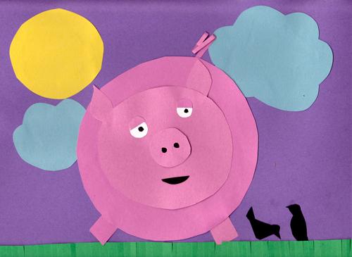 Pig Craft On A Farm Kindergarten Nation